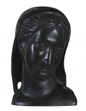 Kuna  Henryk, GŁOWA ŚWIĘTEJ, 1926 (ODLEW WSPÓŁCZESNY)