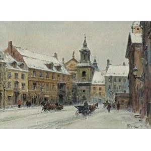 Chmieliński (Stachowicz) Władysław, WARSZAWA, ULICA DŁUGA W STRONĘ FRETA