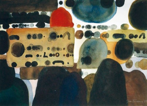 Jan TARASIN (1926-2009), Kompozycja III, 1991