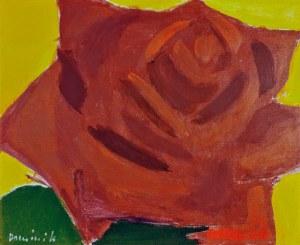 Tadeusz DOMINIK (1928-2014), Róża czerwona, 1976