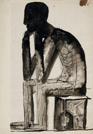 Jan LEBENSTEIN (1930-1999), Figura, ok. 1956