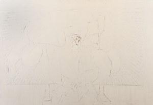 Andrzej ZWIERZCHOWSKI (ur. 1954), Stary malarz (Paul Cézanne), 1993