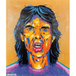 Witold ABAKO (ur. 1958), Mick Jagger, 2018