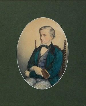 Jan MATEJKO (1838-1893), Portret Stanisława Giebułtowskiego, 1855