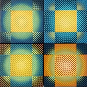 Michał WĘGRZYN, Color Vibration, 2020 r.