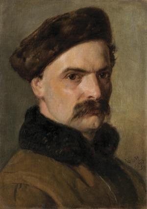 Matejko Jan, PORTRET SZYMONA DAROWSKIEGO, 1858