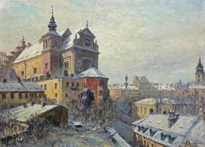 Chmieliński (Stachowicz) Władysław, DACHY WARSZAWY