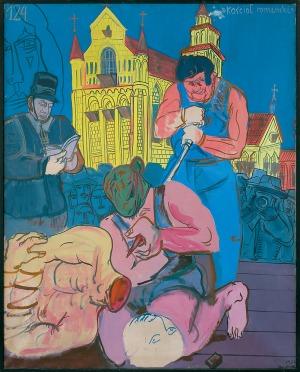 Dwurnik Edward, KOŚCIÓŁ ROMAŃSKI, 1974