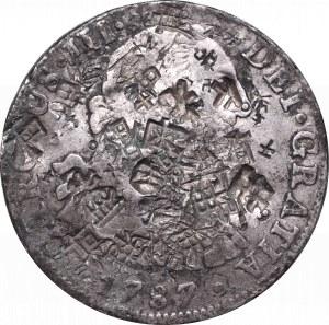 Meksyk, Carlos III, 8 reali 1787 - ciekawe chop marki chińskie