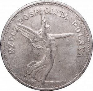 II Republic, 5 zlotych 1931, Nike