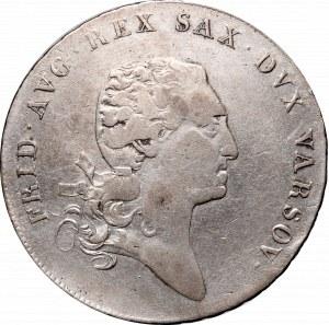 Duchy of Warsaw, Frederick Augustus I, Thaler 1812 IB