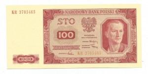 PRL, 100 złotych 1948 seria K