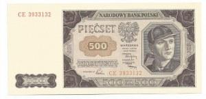 PRL, 500 złotych 1948