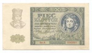 GG, 5 złotych 1940
