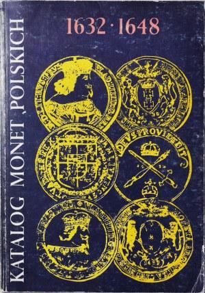 Kamiński - Kurpiewski, Katalog monet Władysława IV 1632-1648