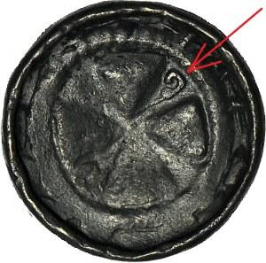 RRR-, Denar krzyżowy XIw, MAŁY PASTORAŁ (jak CNP 851), jedna swastyka (CNP-nie notuje)