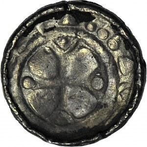 R-, Denar krzyżowy CNP VII, z pastorałem, emisja po 1070 r.