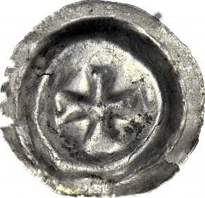 Zakon Krzyżacki, brakteat ok. 1490-1510, Krzyż maltański