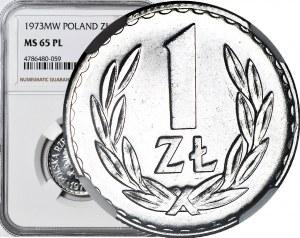RR-, 1 złoty 1973 PROOFLIKE