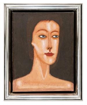 Nowosielski Jerzy (1923-2011), Portret kobiety, 1976