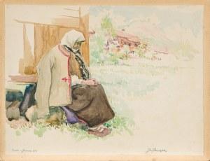 Pieniążek Józef (1888-1953), Babka z Jaworek, 1933