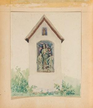 Pieniążek Józef (1888-1953), Kapliczka z Grywałdu, 1929