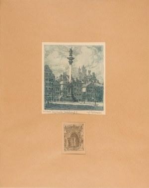 Zakrzewski Władysław, Dwie kompozycje na jednym arkuszu papieru, lata 30. XX w.