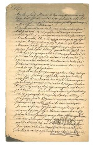 (ALEKSANDER II cesarz Rosji i król Polski o Powstaniu styczniowym).