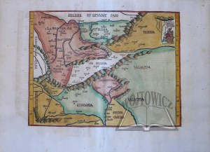 "(POLSKA). ""Tabula Moderna Hungariae, Poloniae, Russiae, Prussiae, et Valachiae"