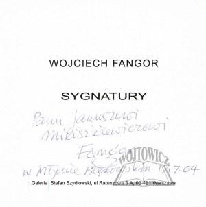 FANGOR Wojciech, Sygnatury.