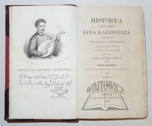 KOCHOWSKI Wespazyan, Historya panowania Jana Kazimierza