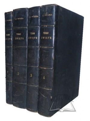 BIBLIA łacińsko-polska czyli Pismo Święte Starego i Nowego Testamentu.