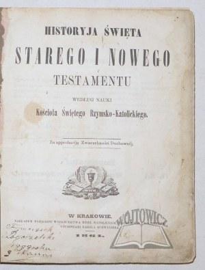 HISTORYJA Święta Starego i Nowego Testamentu.