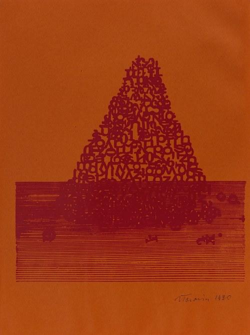 Jan Tarasin, Piramida, 1975/1990,