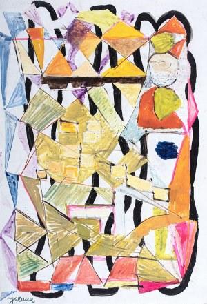 Józef Jarema (1900 Stary Sambor - 1974 Monachium), Kompozycja abstrakcyjna