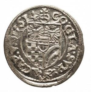 Śląsk, Księstwo Oleśnickie, Karol II 1587 - 1617, 3 krajcary 1614, Oleśnica.