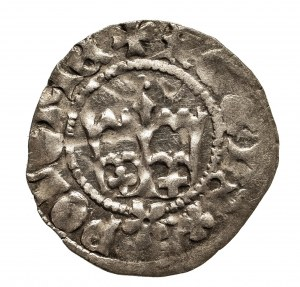 Polska, Kazimierz IV Jagiellończyk 1446-1492, półgrosz koronny