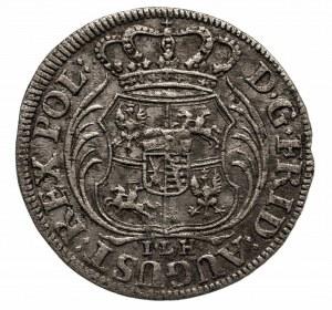 Polska, August II Mocny 1697-1733, 1/24 talara 1705 I.L.H. Drezno.