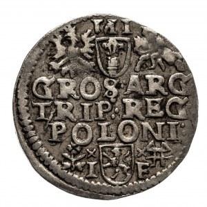 Polska, Zygmunt III Waza 1587-1632, trojak 1595, Wschowa.