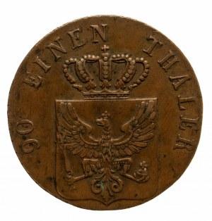 Niemcy, Prusy, Fryderyk Wilhelm III, 1797 - 1840, 4 pfenninge 1830, Berlin.