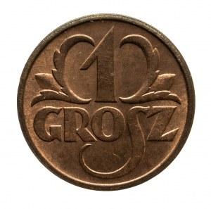 Polska, II Rzeczpospolita 1918-1939, 1 grosz 1938, Warszawa.