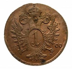 Austria, Franciszek II Habsburg 1792-1835, 1 krajcar 1800 A, Wiedeń