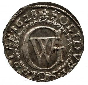 Prusy Książęce, Jerzy Wilhelm 1619-1640, szeląg, 1628, Królewiec