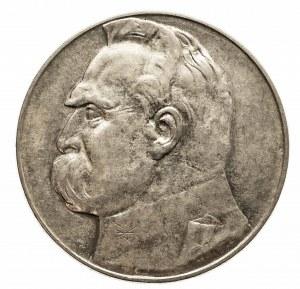 Polska, II Rzeczpospolita 1918-1939, 10 złotych Piłsudski 1937, Warszawa.