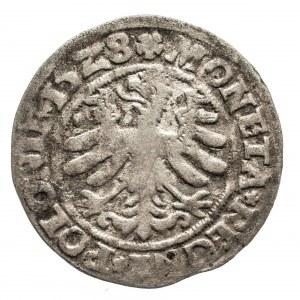 Polska, Zygmunt I Stary 1506-1548, grosz 1528, Kraków.
