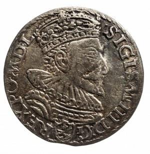 Polska, Zygmunt III Waza 1587-1632, trojak 1594, Malbork.