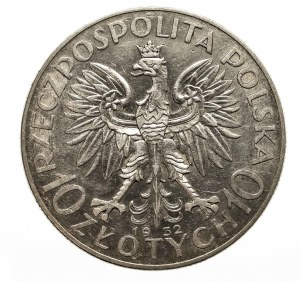 Polska, II Rzeczpospolita 1918-1939, 10 złotych 1932, Warszawa.