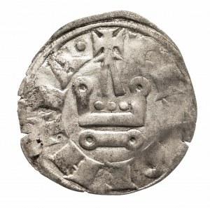 Francja, Krzyżowcy 1289-1297 denar turoński