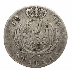 Księstwo Warszawskie 1807-1815, 1/3 TALARA 1813, Warszawa.