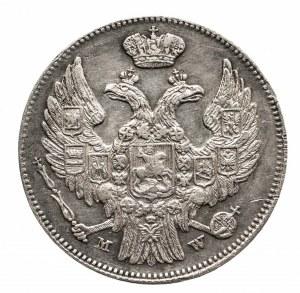 Polska, Zabór rosyjski, Mikołaj I 1825-1855, 1 złoty / 15 kopiejek 1839 MW, Warszawa.